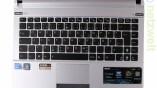 Bei der Tastatur war kein Platz mehr für einen...