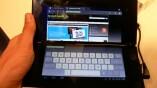 Mit virtueller Tastatur wird das Tablet P zum...