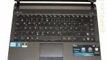 Tastatur mit angenehmer Größe.
