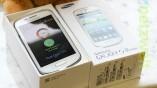 Das Galaxy S3 Mini ist deutlich kleiner als das...