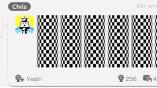 Einige Nutzer malen gerne geometrische Formen....