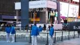 Der Times Square stand für ein paar Stunden...