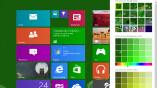 Neue Farben und Muster sind in Windows Blue...
