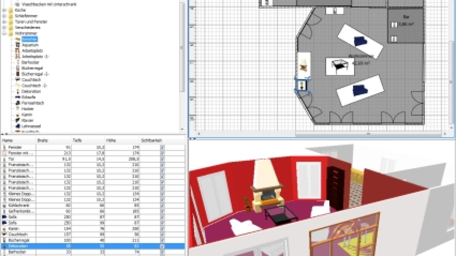 anleitung: wohnungsplaner sweet home 3d - netzwelt