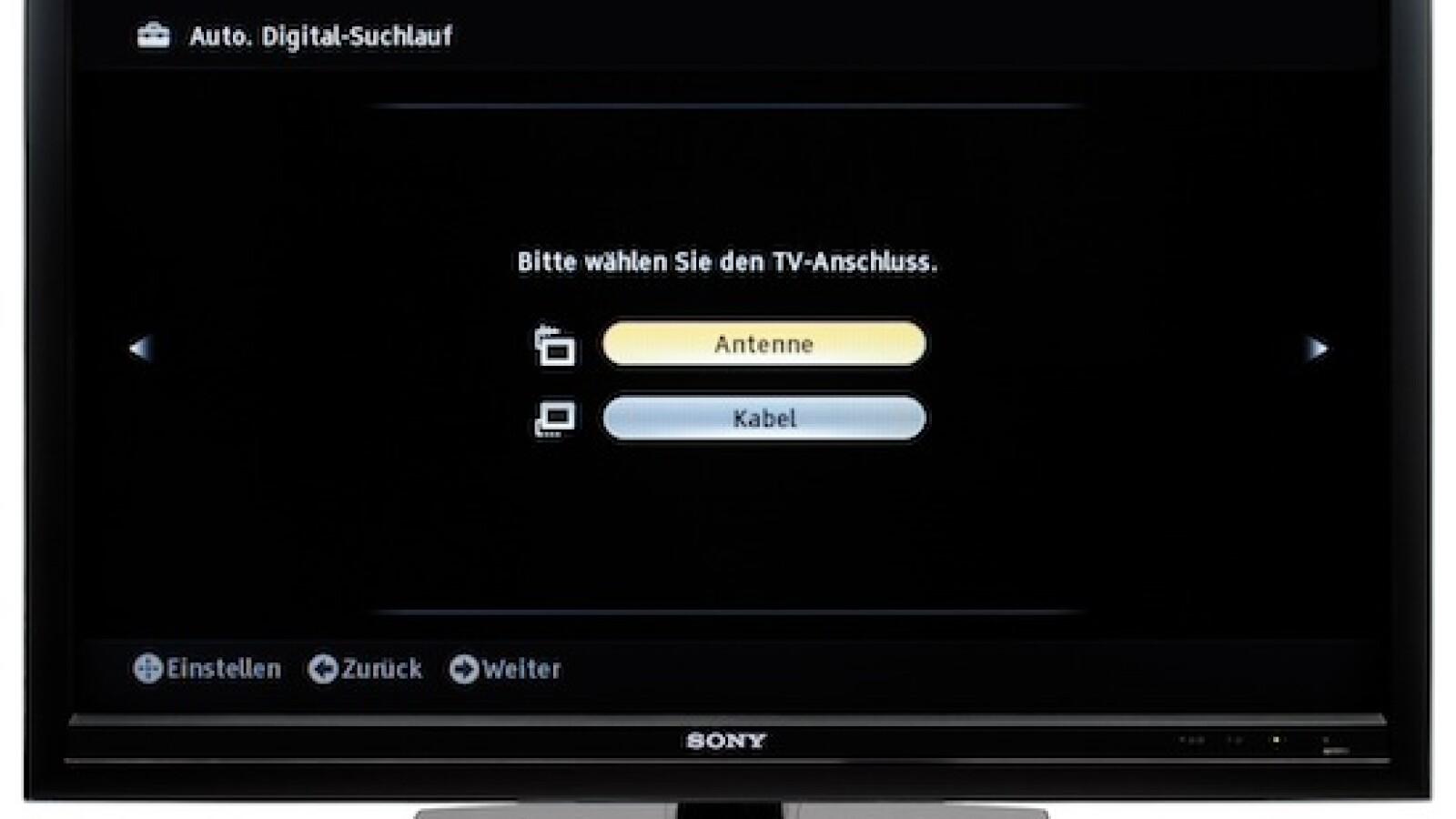 Sony KDL-40 Z 5500: Zierliche TV-Schönheit im Test - NETZWELT