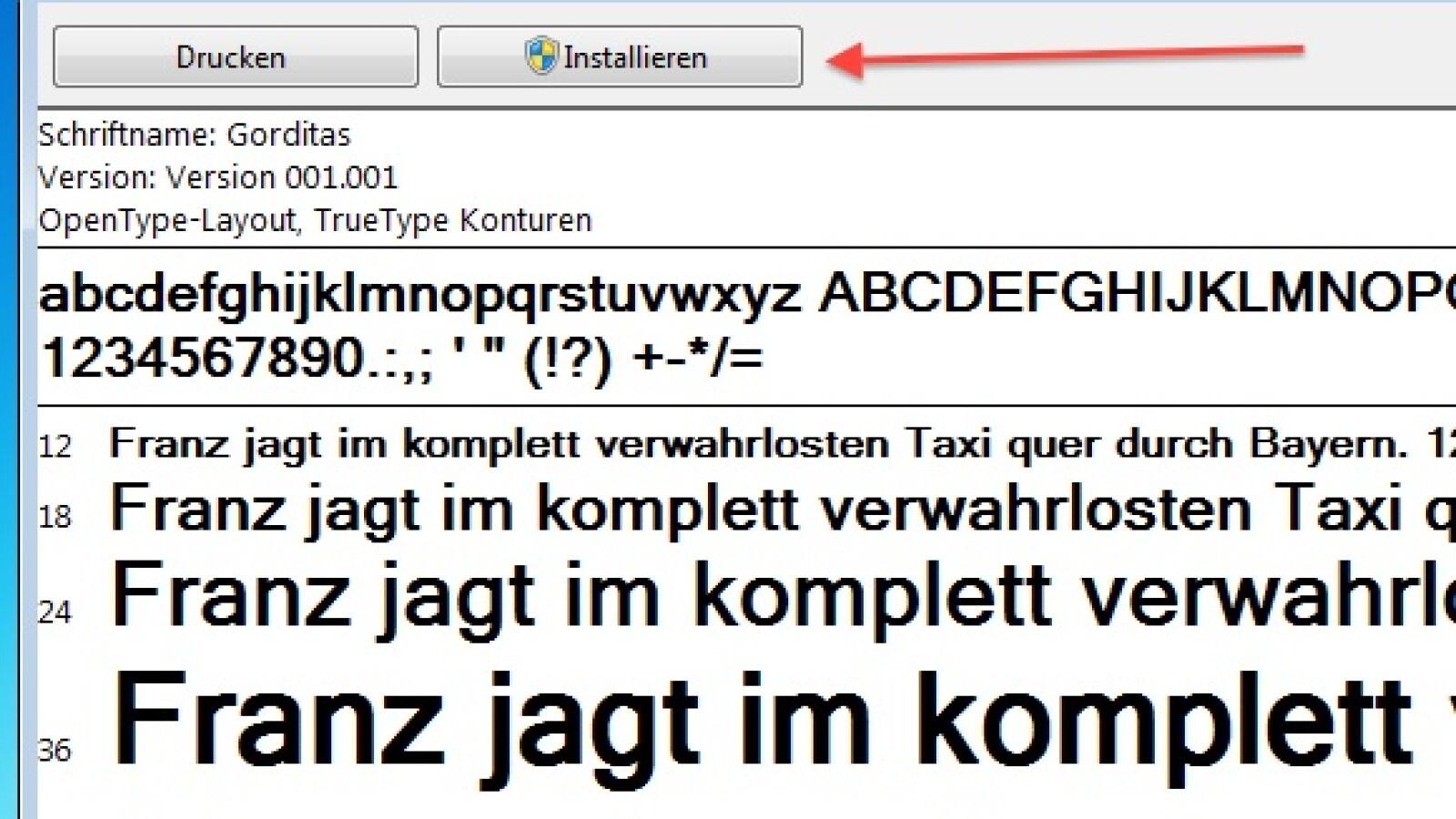 Schriftarten Hinzufügen Unter Windows 7 Netzwelt