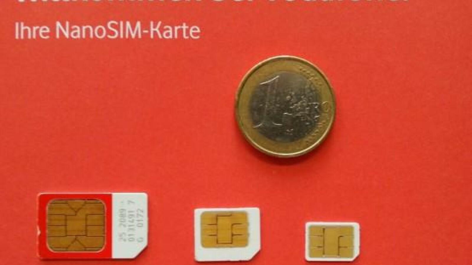 Sim Karte Mini Micro Nano Größen Im überblick Netzwelt