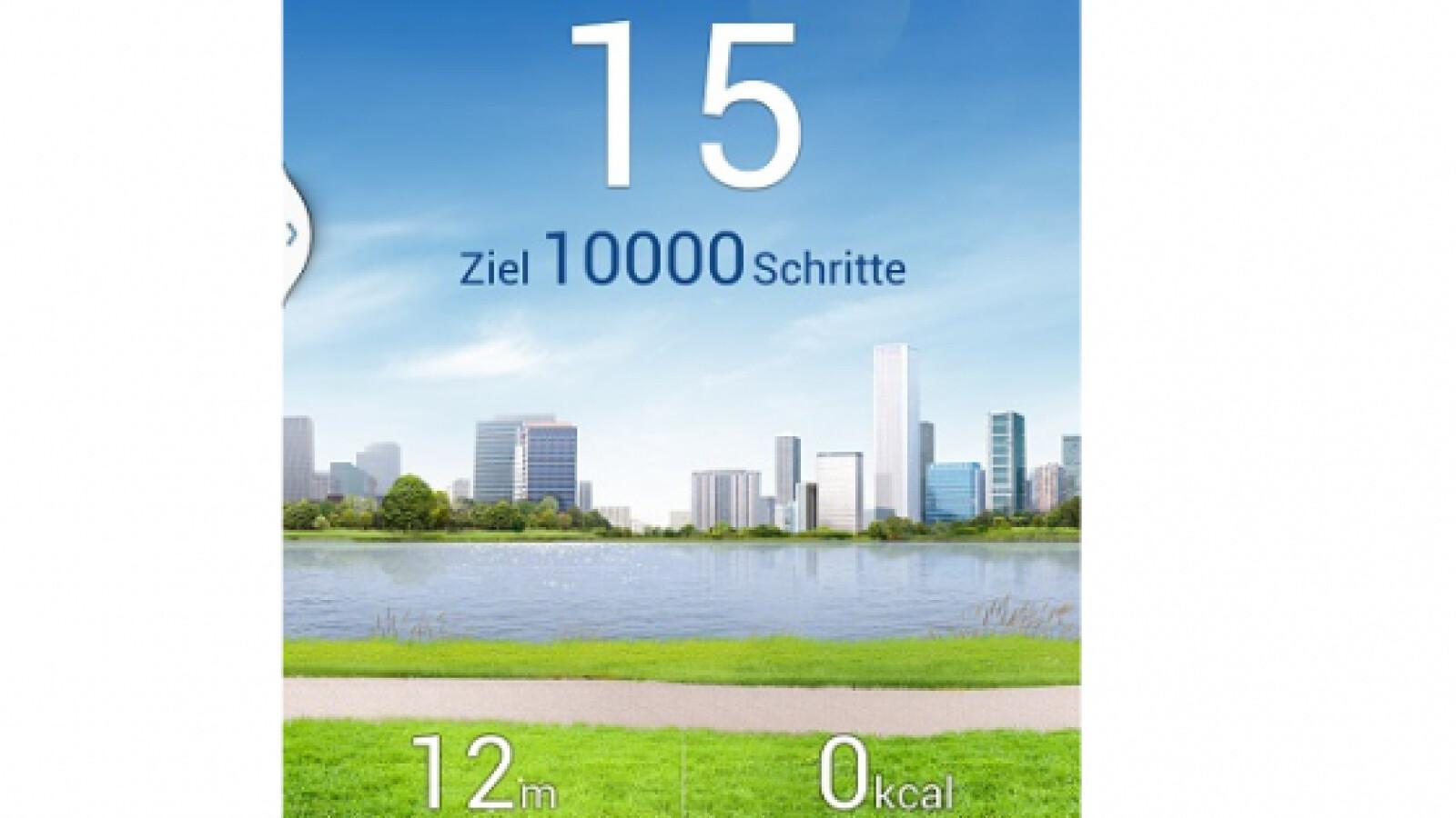 S Health Im Test Das Kann Der Galaxy S4 Schrittzähler Netzwelt