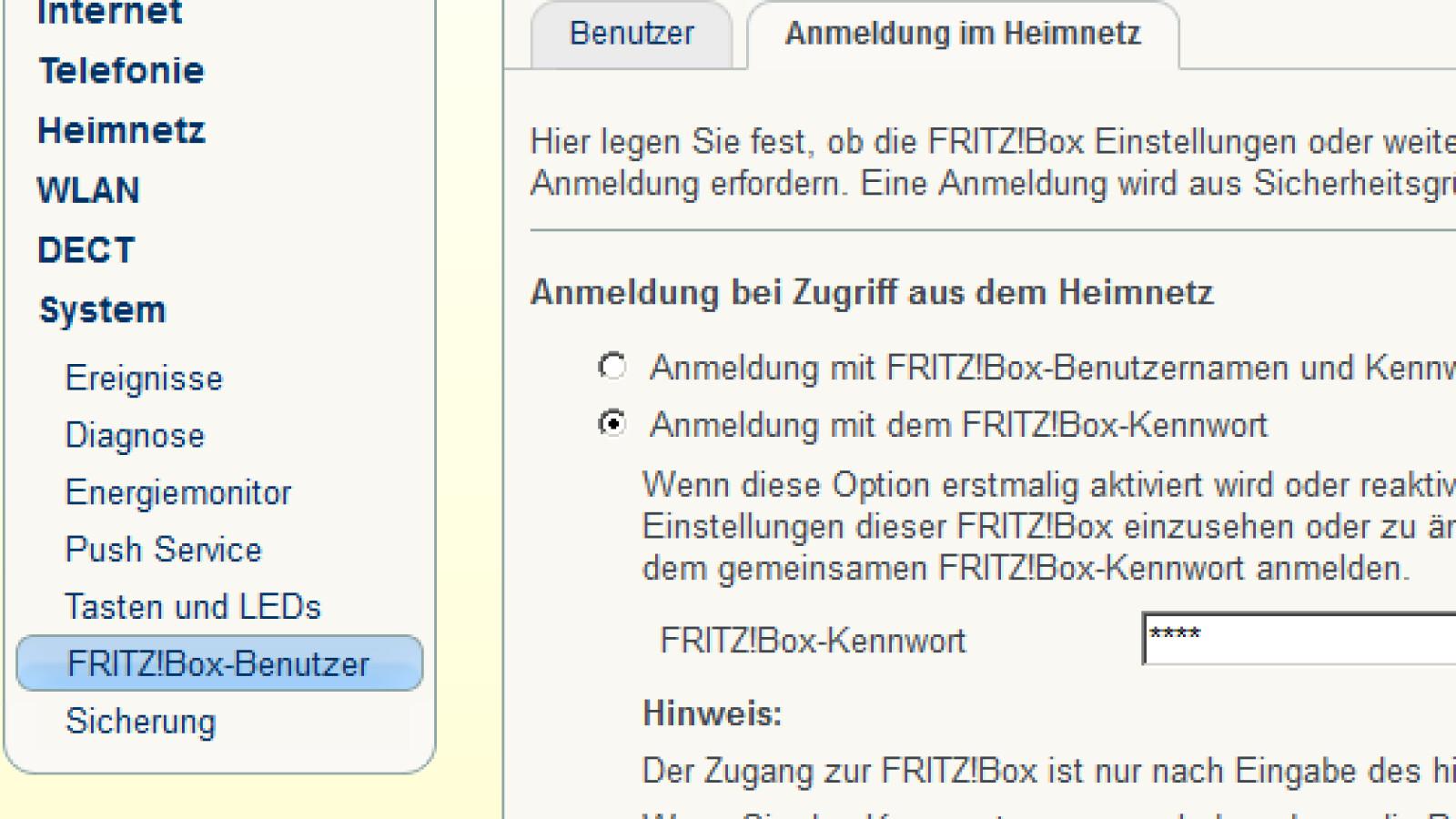 fritz repeater 1750e passwort