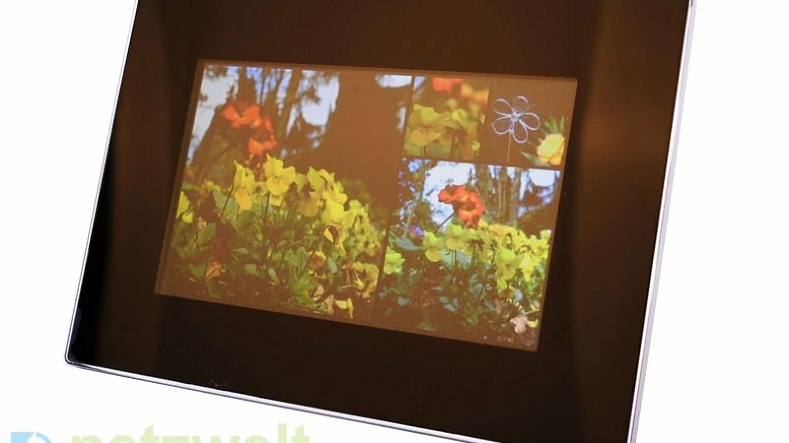 Kodak Easyshare S730 im Test: Tragbarer Bilderrahmen mit Akku - NETZWELT