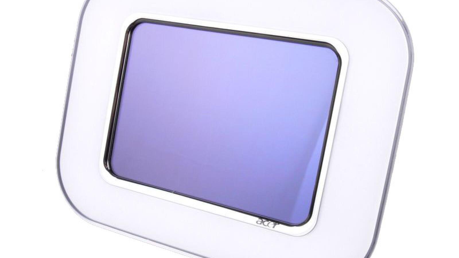 acer af318 im test digitaler bilderrahmen mit touchscreen netzwelt. Black Bedroom Furniture Sets. Home Design Ideas