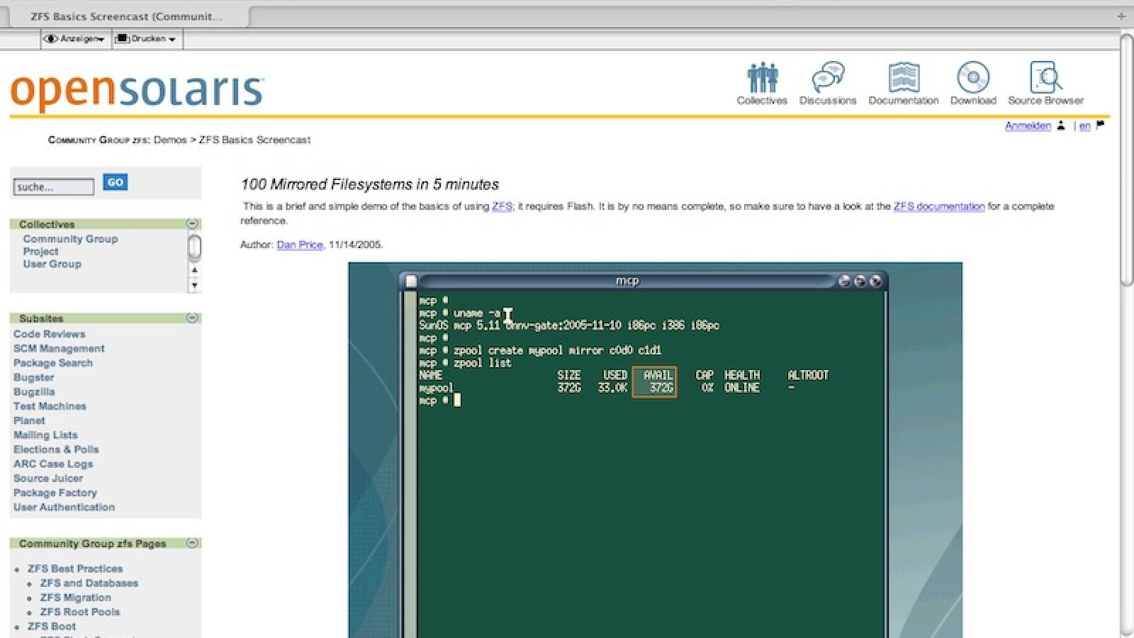 Netzwelt-Wissen: UFS, XFS und das liebe ZFS - NETZWELT
