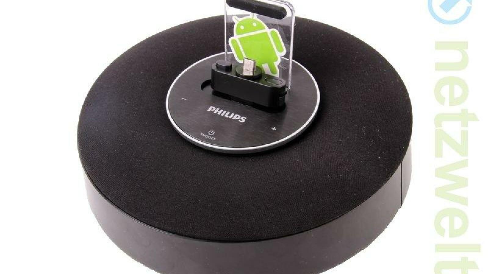 Android-Dockingstation: Philips Fidelio AS111/12 im Test ...