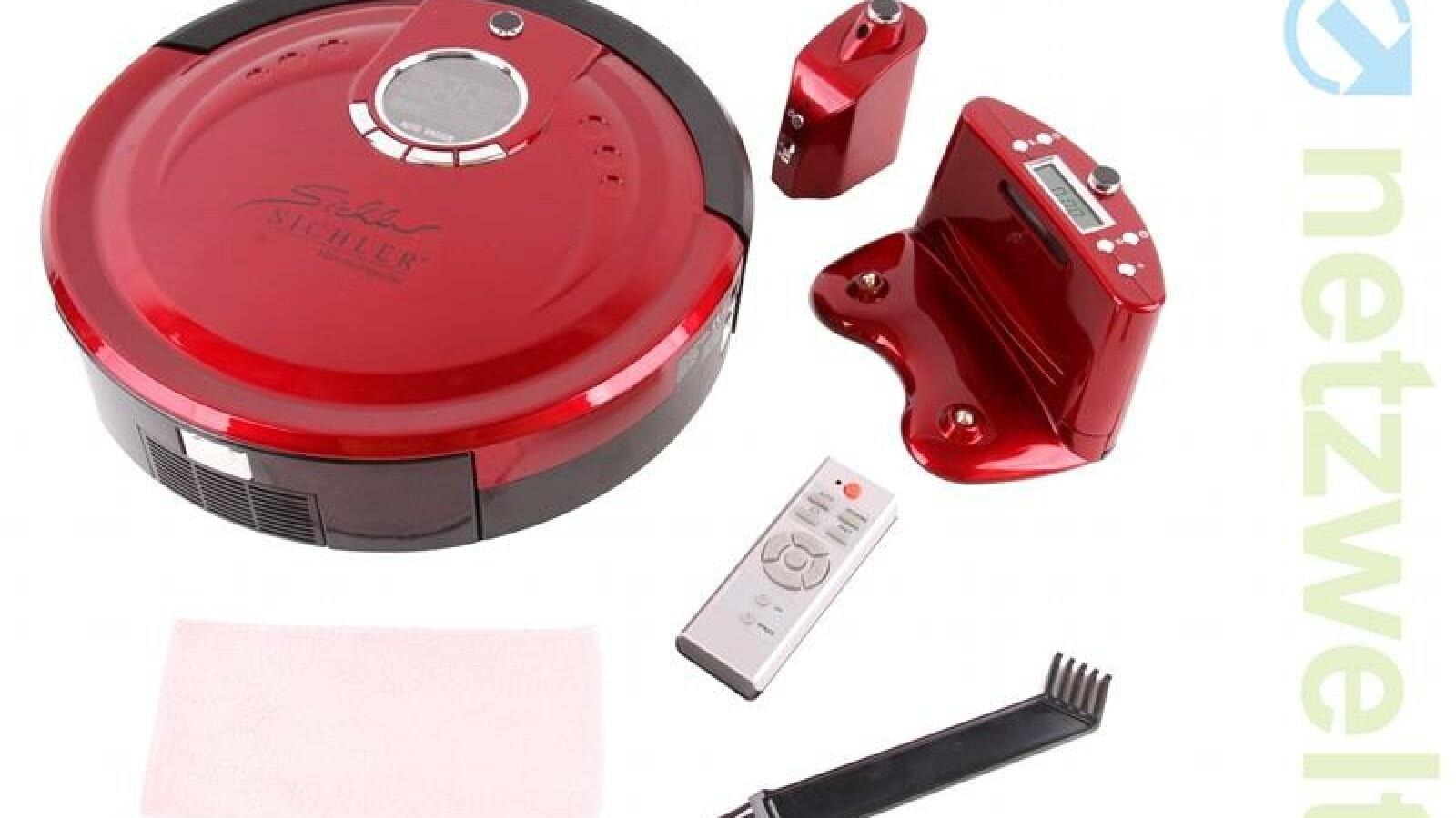 sichler pcr 3350 uv staubsauger roboter mit wisch. Black Bedroom Furniture Sets. Home Design Ideas