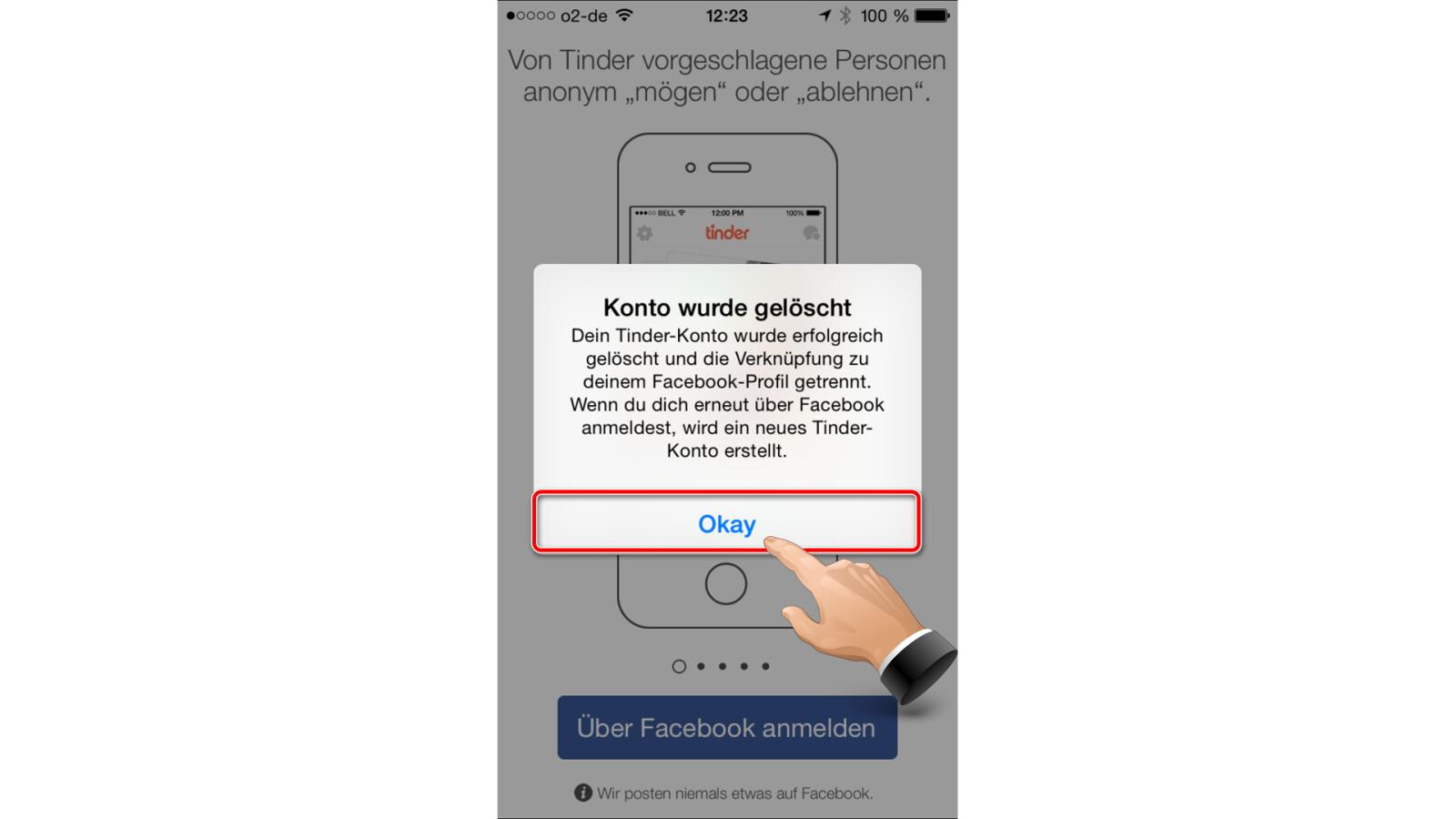Tinder-Konto auf dem iPhone löschen | NETZWELT