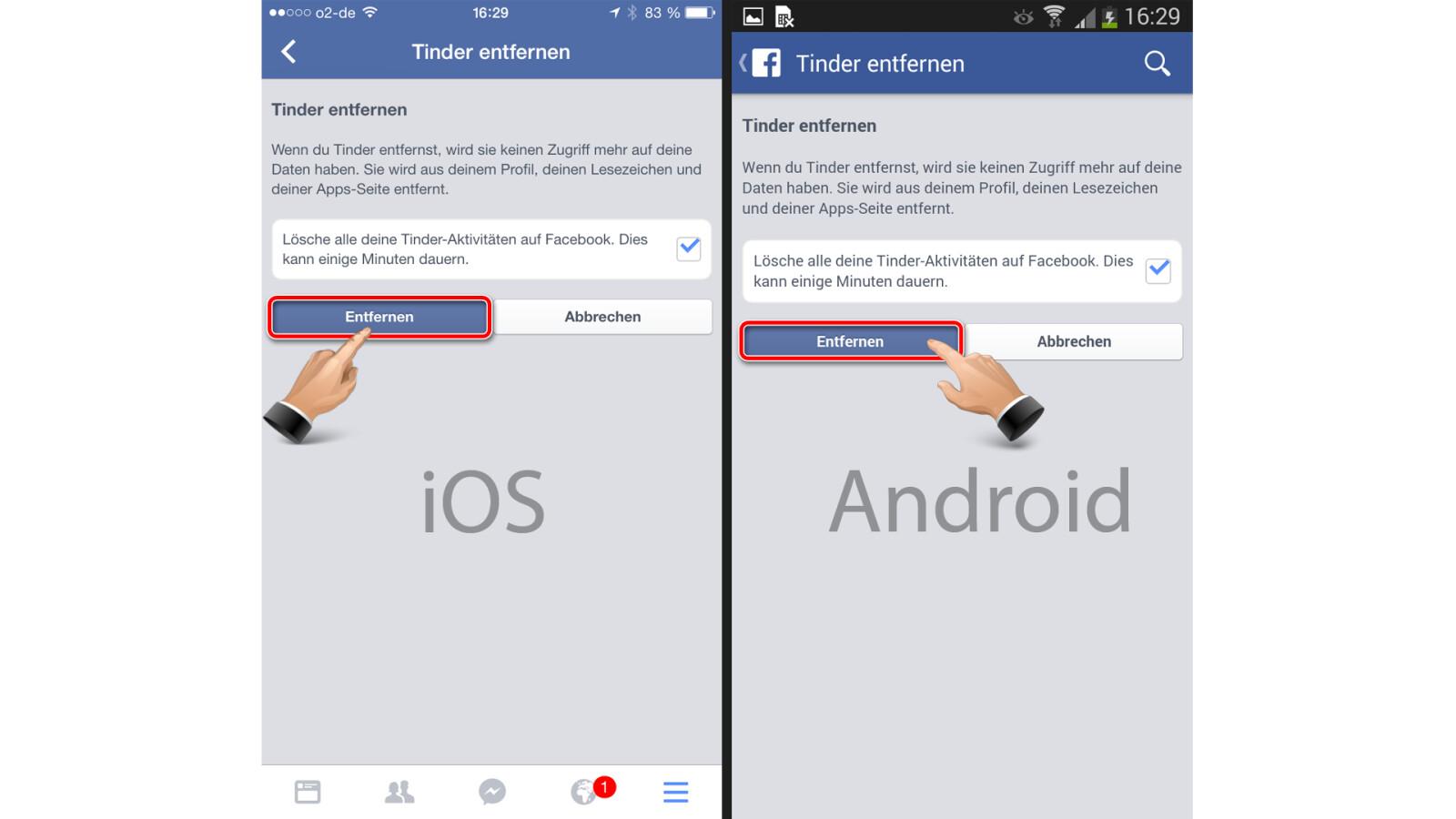 Facebook App Entfernen