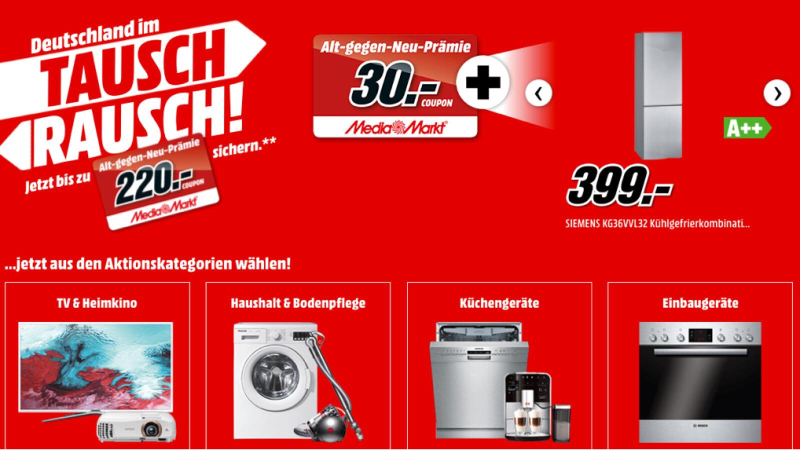 Media Markt-Aktion: Gutscheine im Wert von 220 Euro sichern - NETZWELT
