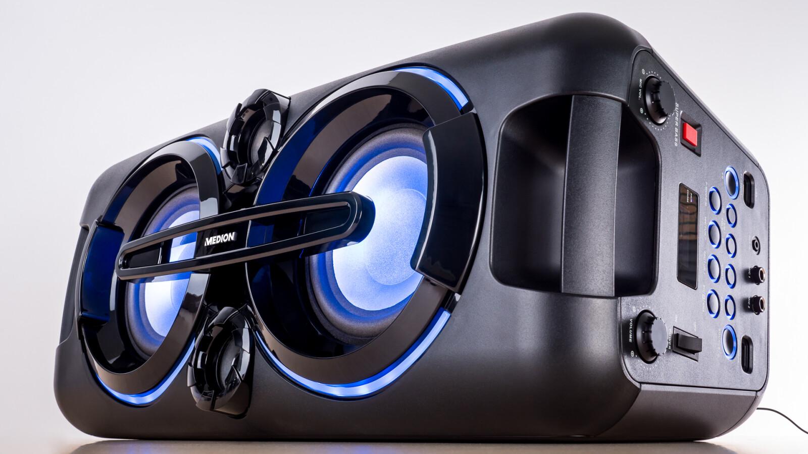 medion p67013 bei aldi bluetooth box f r 90 euro im test. Black Bedroom Furniture Sets. Home Design Ideas