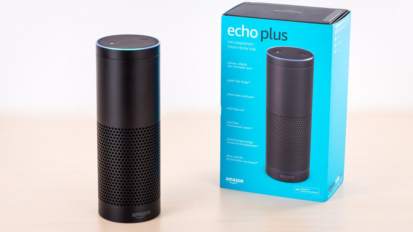 Amazon Echo Plus im Test: Der wahre Nachfolger des ersten Echo ...