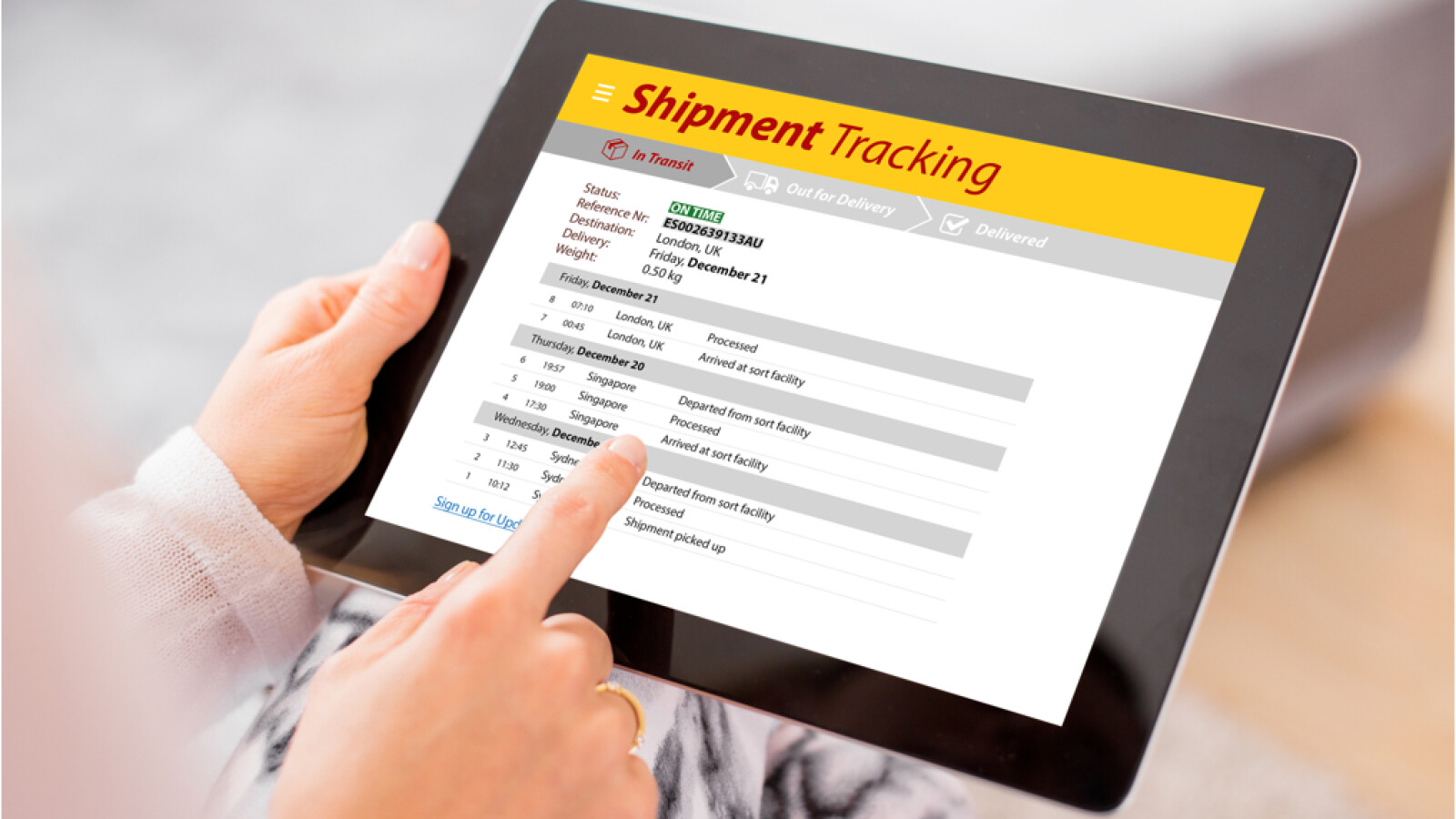 Tracking Depost