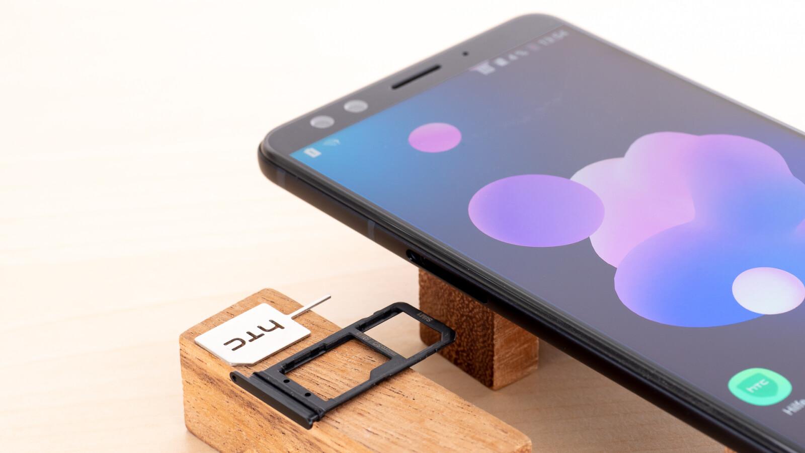 HTC U12+ - SIM-Karte einlegen: Welches Format brauche ich?