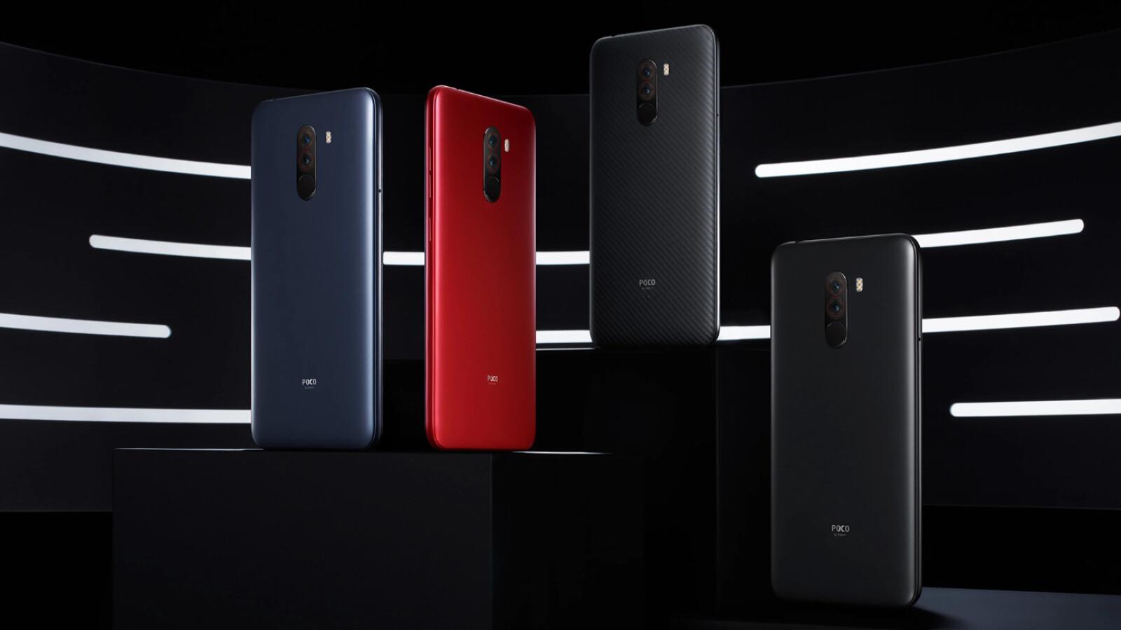 Poco Farben.Poco F1 Xiaomi Shows Snapdragon 845 Smartphone For 260 Euros
