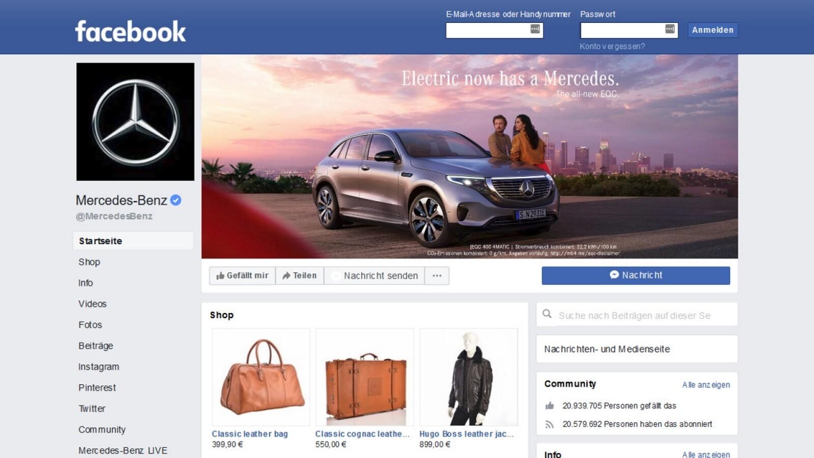 DSGVO: Alle Fan- und Firmenseiten auf Facebook rechtswidrig