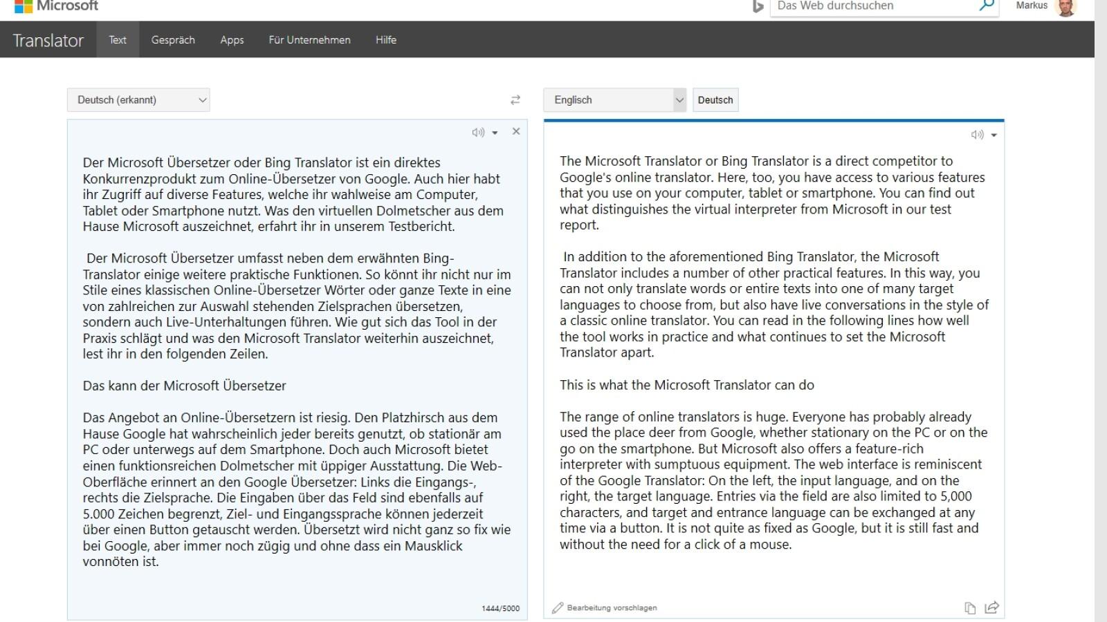 Microsoft Übersetzer: KI-Update sorgt für großen Leistungssprung