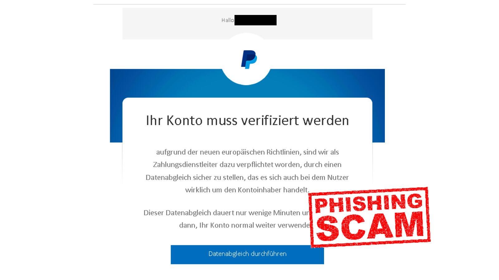 """PayPal-Mails """"Bitte überprüfen Sie Ihr Nutzeraccount"""": Echt oder nur Phishing?"""