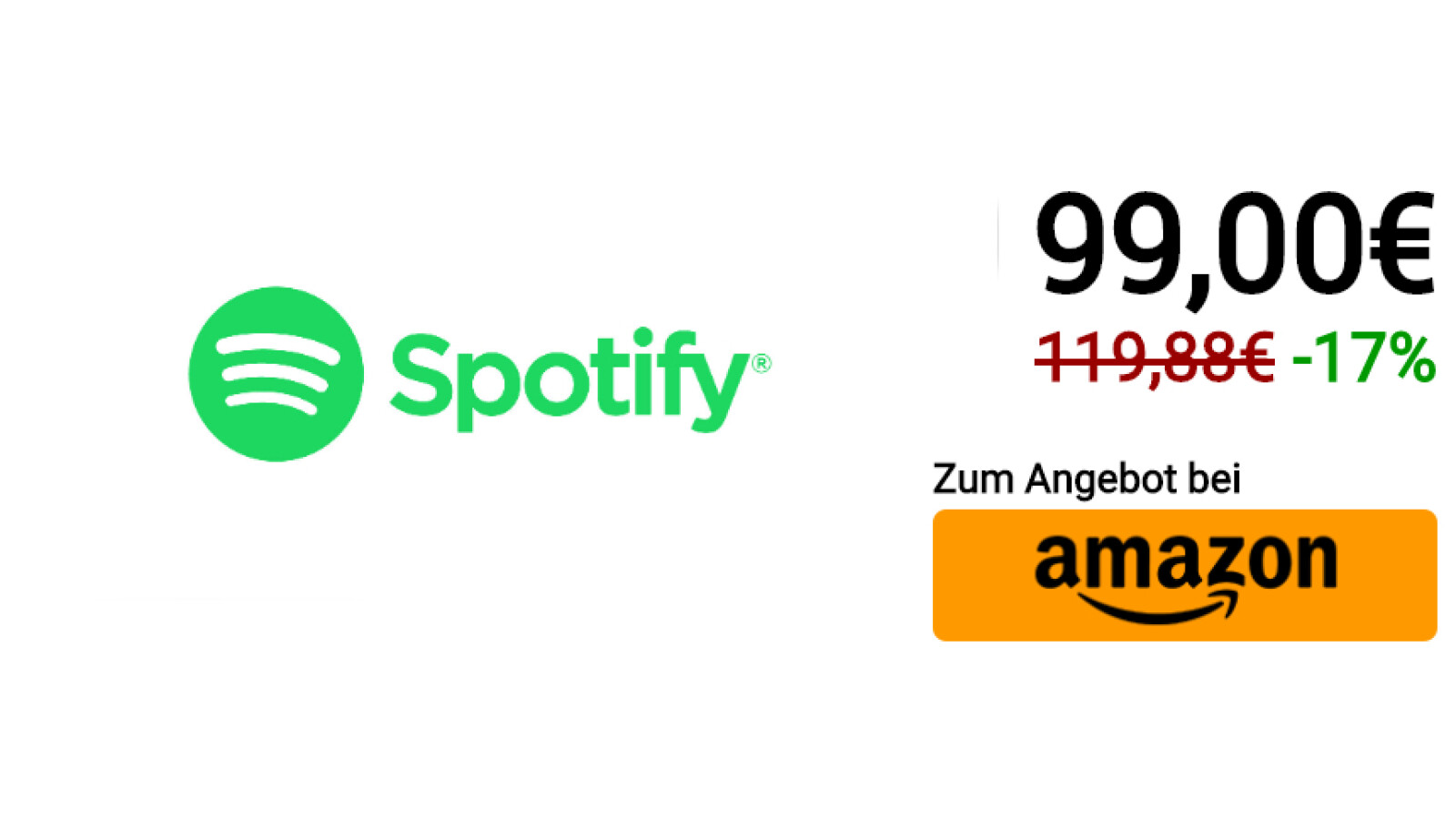 Jahresabo Spotify
