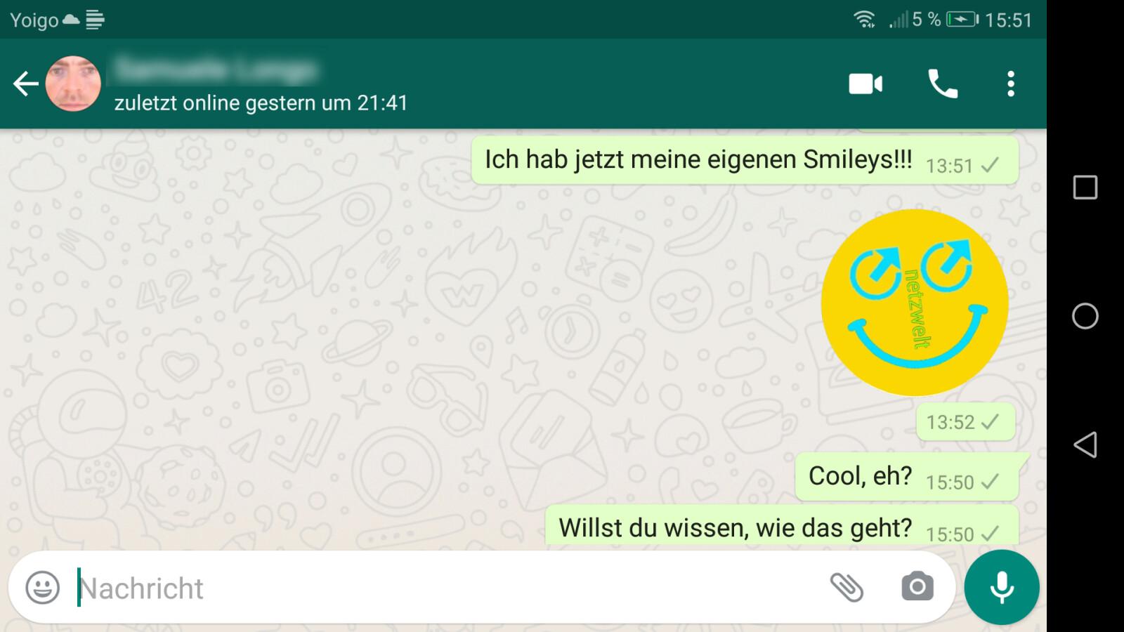 Bedeutungen von whatsapp smileys