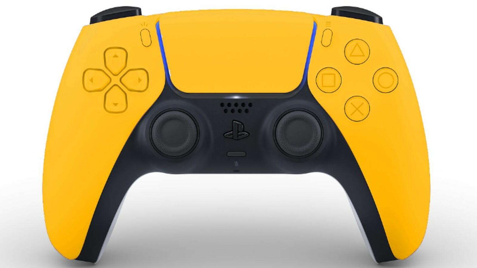 PS5: So sieht der DualSense-Controller in Schwarz, Blau und Gelbgrün aus
