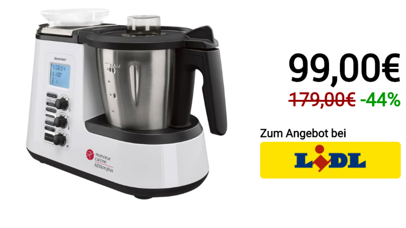 Lidl S Monsieur Cuisine Plus Costs 99 Euros Is It Worth Buying Igamesnews