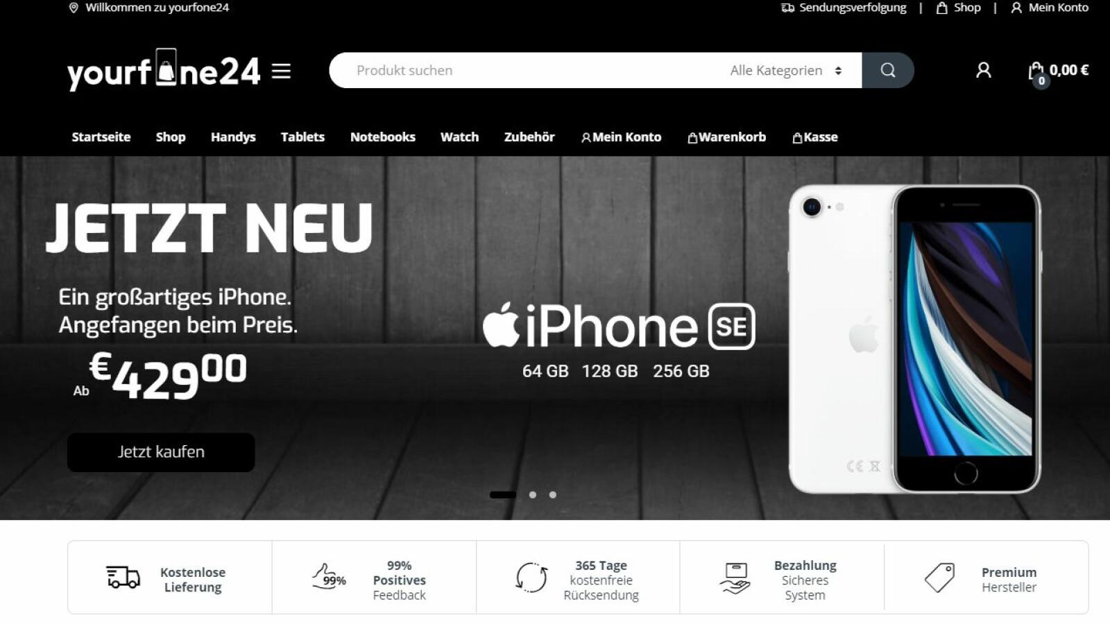 Yourfone24.de: Drillisch warnt vor Fake-Shop