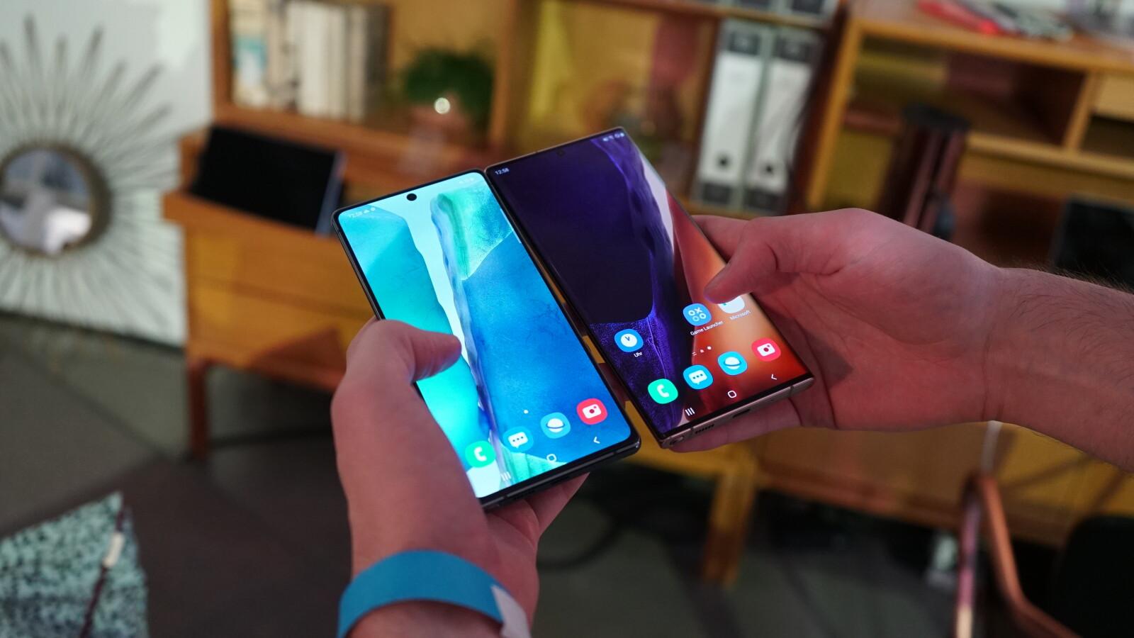 Galaxy Note 20 vs. Note 20 Ultra: Das sind die Unterschiede