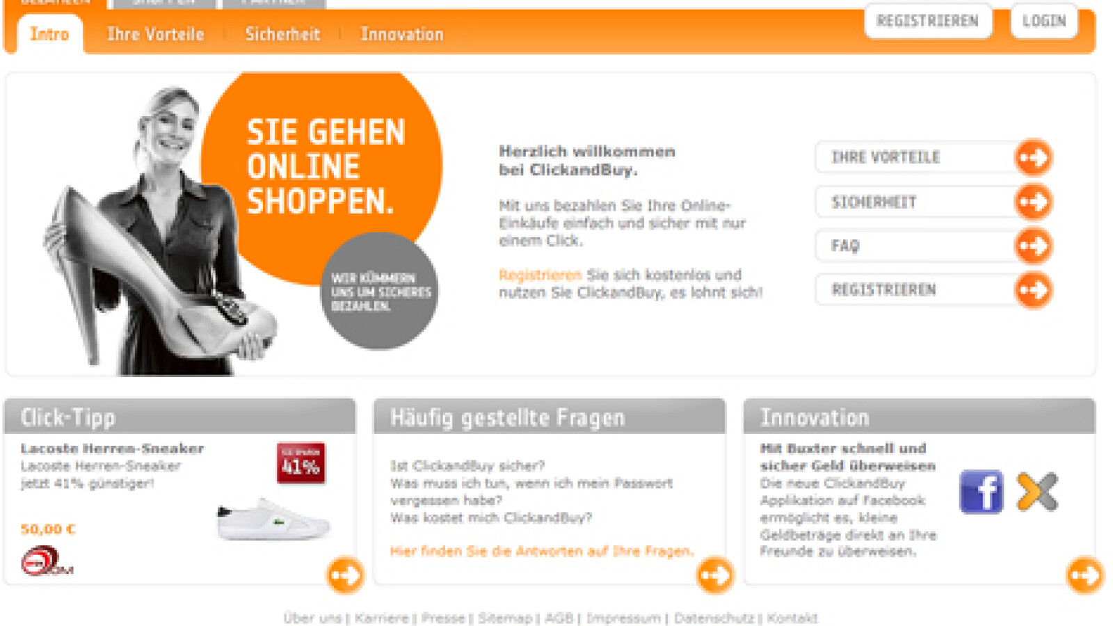 Bezahlen im Internet: Click and Buy   NETZWELT