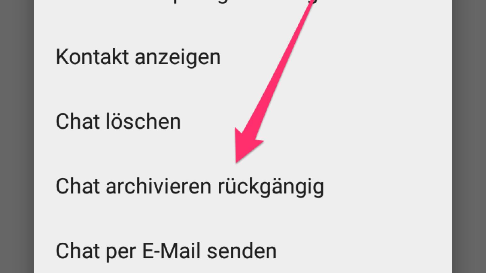 Chat empfangen nachrichten whatsapp trotzdem archiviert 11 Wissenswertes