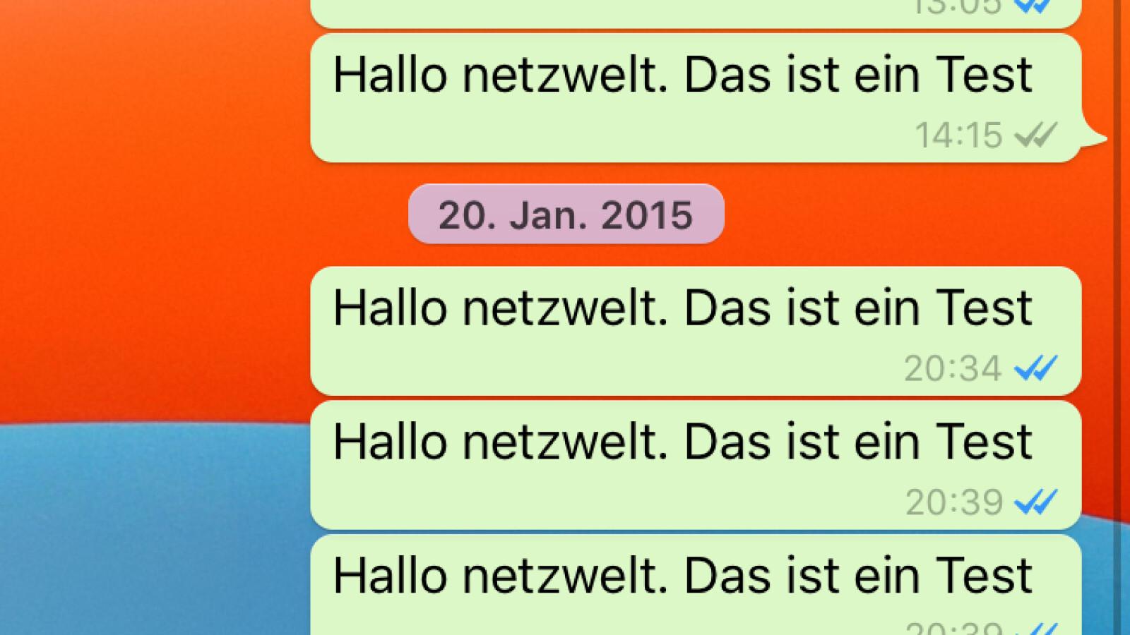 Bekomme mehrere bilder whatsapp profilbild ich in wie WhatsApp Status: