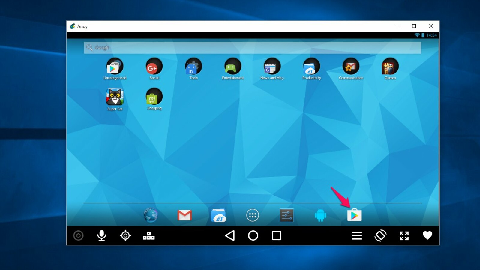 Andy Android Emulator So zieht ihr Android Apps auf den PC   NETZWELT