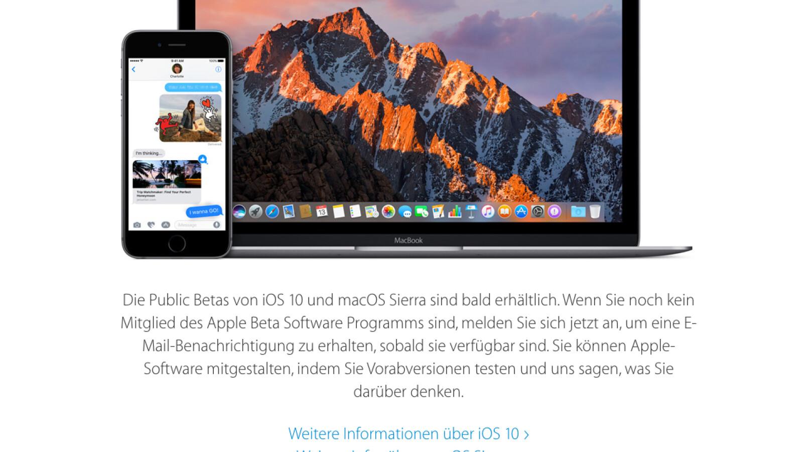 macOS So installiert ihr die macOS 20.20 Sierra Beta   NETZWELT