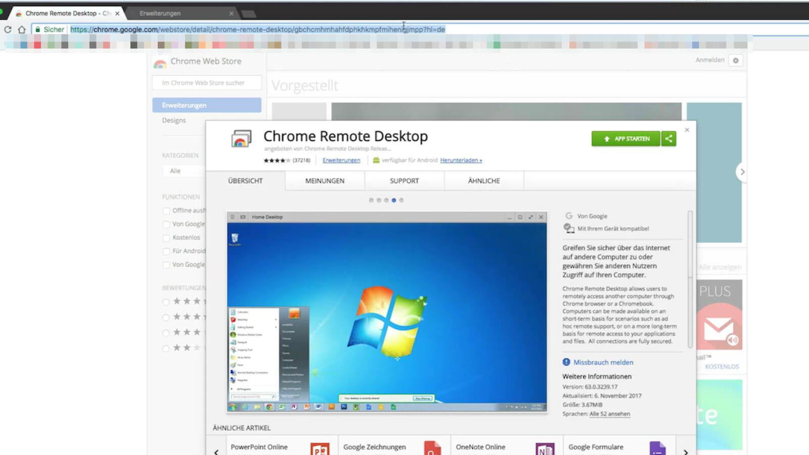 Chrome Remote Desktop So steuert ihr den Rechner fern   NETZWELT