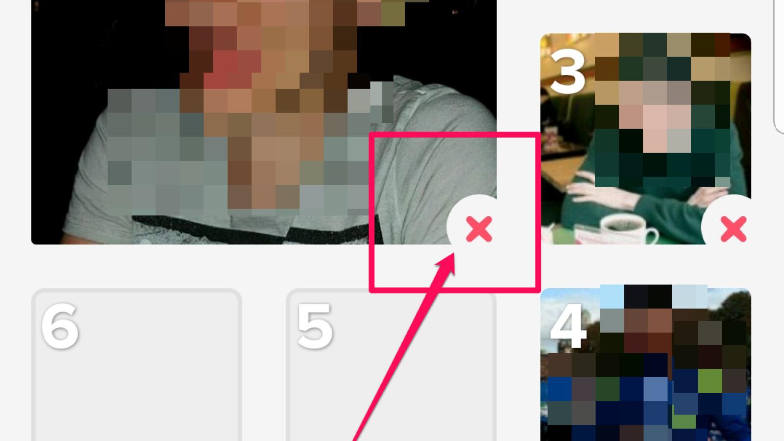 Bilder reihenfolge ändern tinder Tinder: Profilbild
