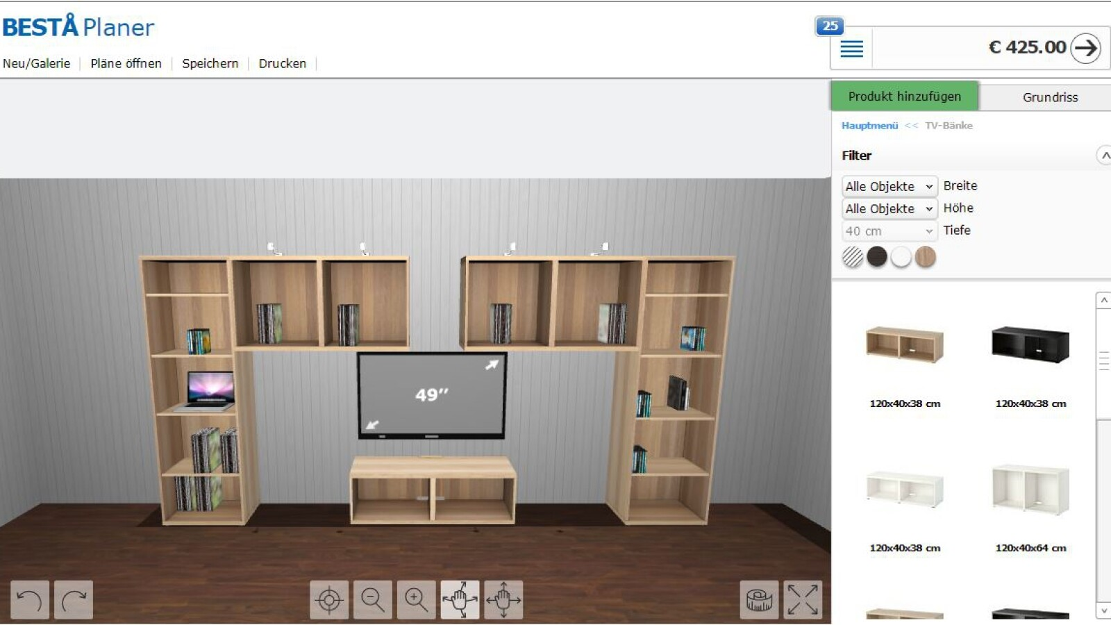Ikea Planer So Plant Ihr Euren Besta Schrank Am Pc Netzwelt