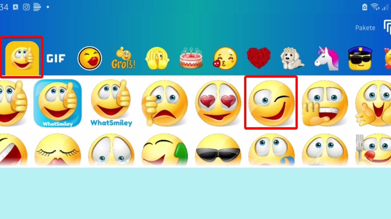 Smileys kostenlos kopieren