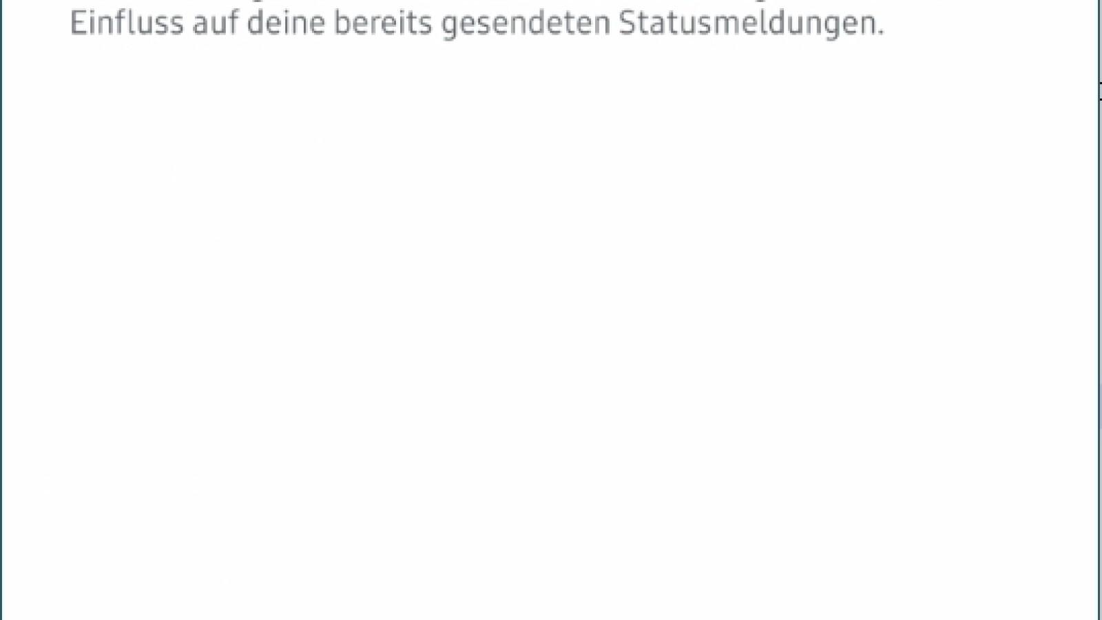 Online für personen whatsapp status verbergen bestimmte WhatsApp Online