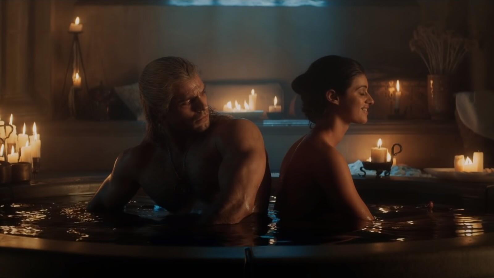 The Witcher: Mehr heiße Badewannen-Szenen in Staffel 2