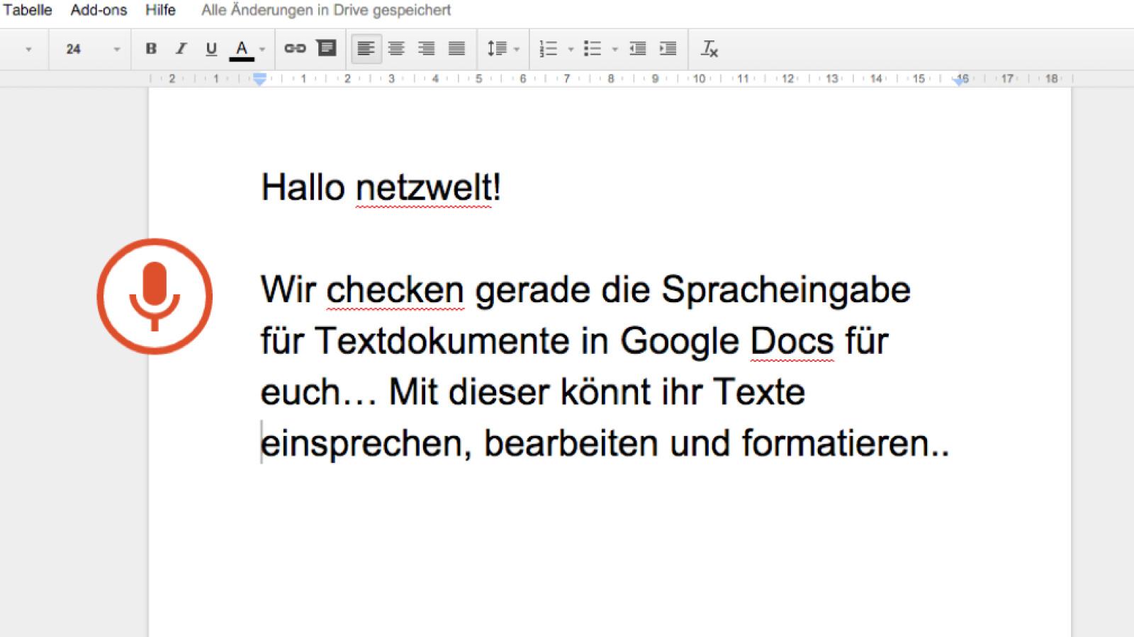 Google Docs: Spracheingabe für Texte verfügbar - so geht\'s - NETZWELT