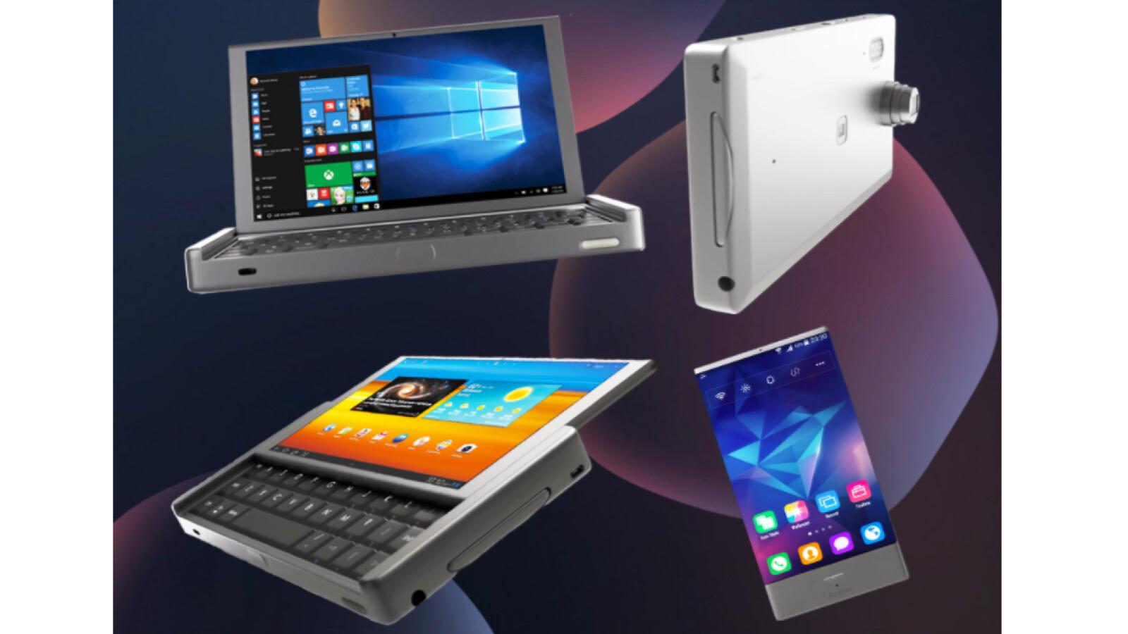 Graalphone Man Nehme Notebook Tablet Smartphone Und 3d