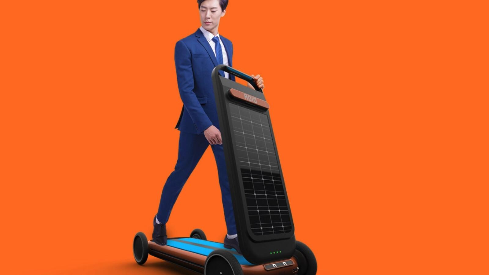 Mischung aus Laufband und Solar-E-Scooter vorgestellt