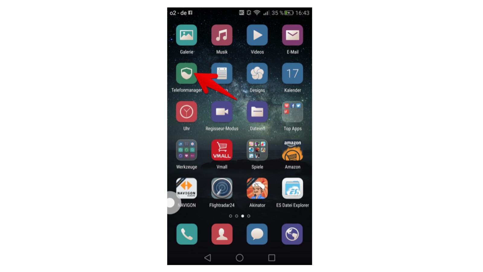 Telefonmanager App